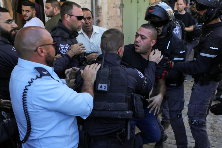 راهپیمایی پرچم؛ حمله اسرائیل به غزه/ 33 زخمی و 17 بازداشتی در فلسطین