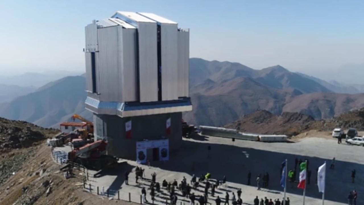رصدخانه ملی در پایان خرداد به پله آخر میرسد