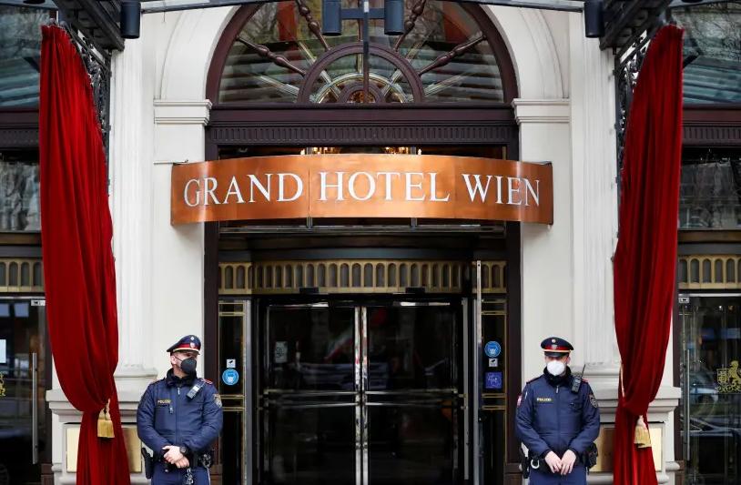 پلیس اتریش: مخالفان برجام اجازه تظاهرات در اطراف هتل وین را ندارند