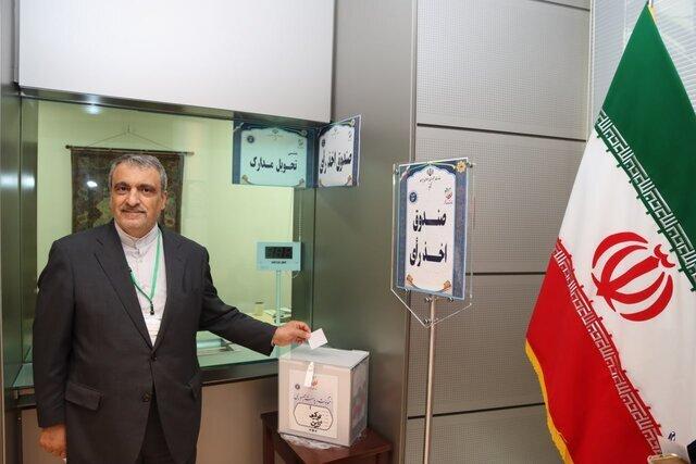 پایان رأی گیری انتخابات ریاست جمهوری ایران در ژاپن