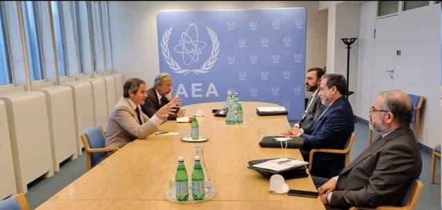 دیدار عراقچی با مدیرکل آژانس بین المللی انرژی اتمی