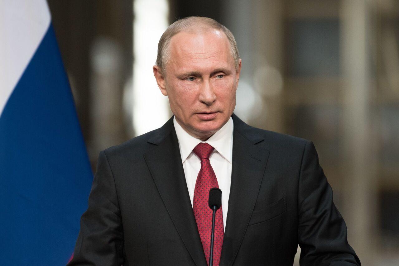 پوتین انتخاب رئیسی را تبریک گفت