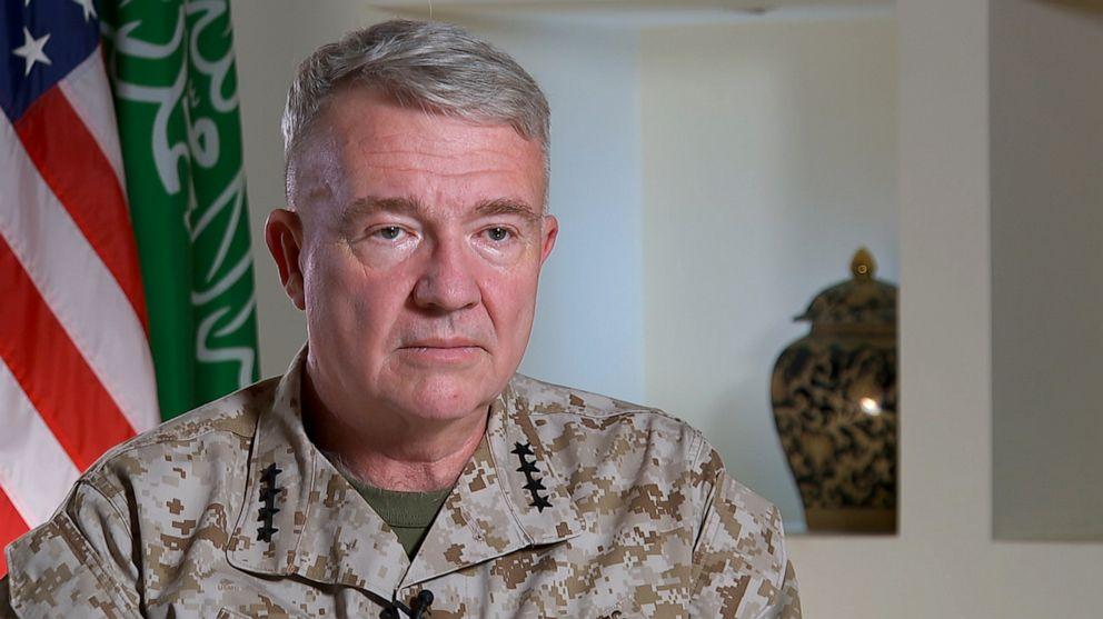 فرمانده سنتکام: سعودی ها از ترس حملات ایران می خواهند آمریکا در آنجا بماند