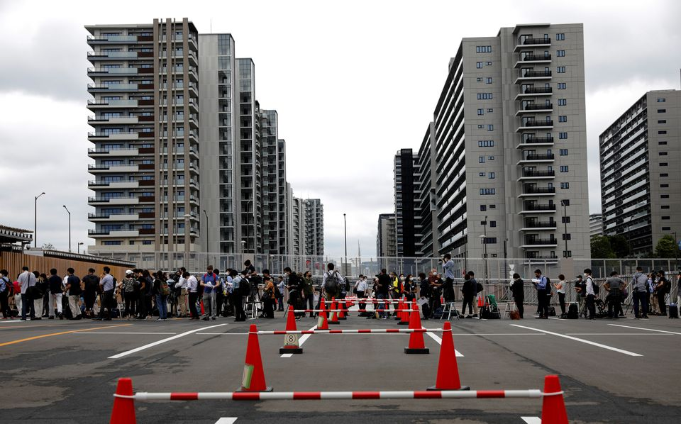 نمایش اولیه دهکده المپیک ژاپن