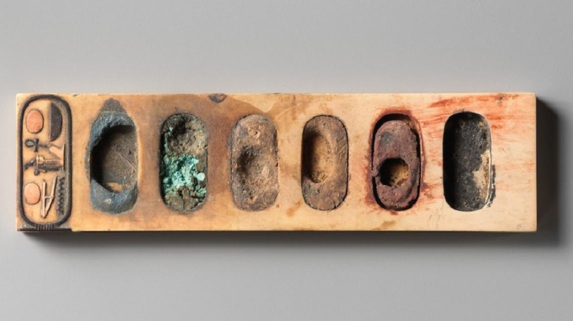 کشف پالت رنگ با قدمت 3400 سال در مصر (+عکس)