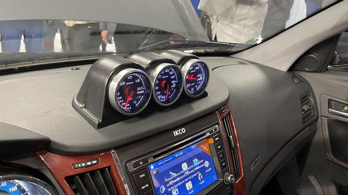 معرفی نسخه سفارشی  دنا پلاس توربو با قدرت  200 اسب بخار / مدیر عامل ایران خودرو:اختصاص 1 در صد تولید به خودروهای سفارشی  (+عکس)