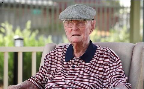 راز عجیب طول عمر پیرمرد 111 ساله استرالیایی! (+عکس)