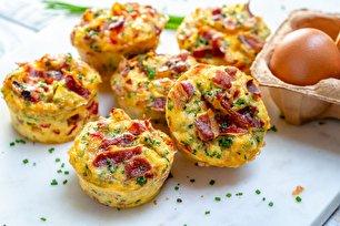طرز تهیه مافین تخم مرغی