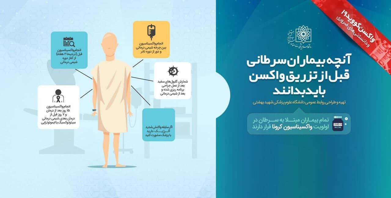 توصیه به بیماران سرطانی