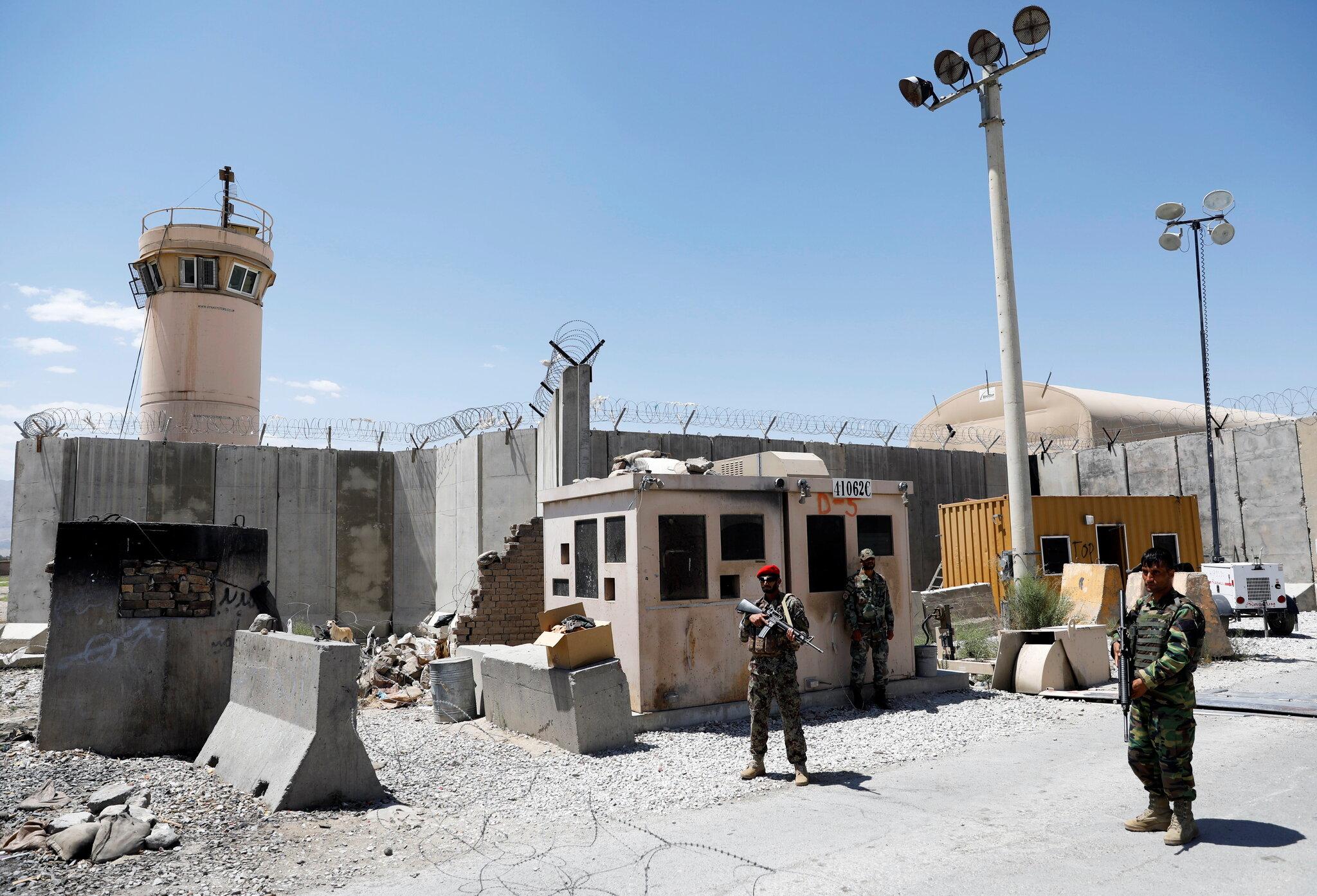 نیروهای افغانستان در بگرام