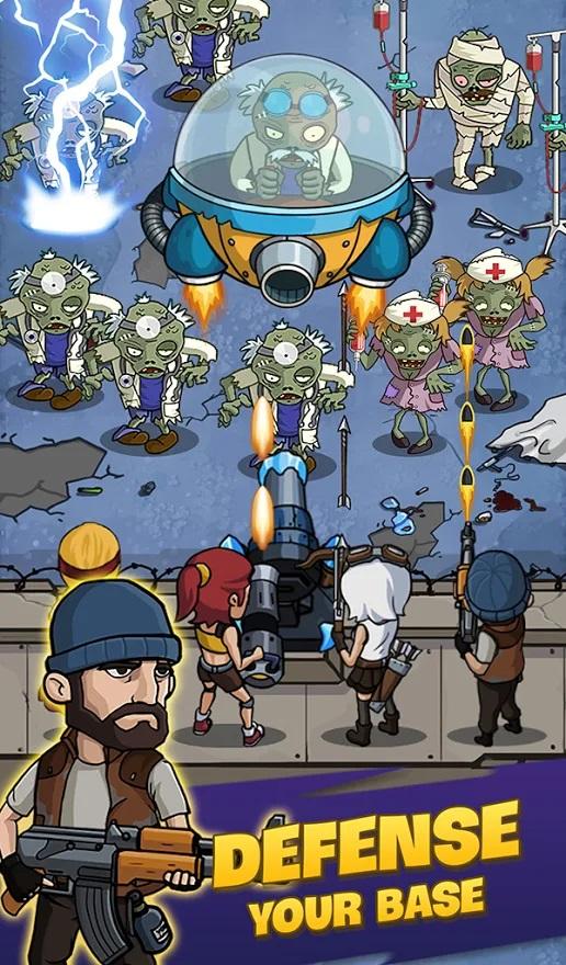 دانلود بازی جنگ زامبی - Zombie War