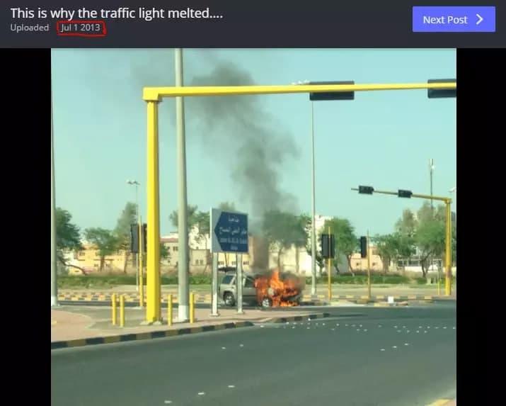 از گرمای 73 درجه ای کویت و ذوب شدن خودروها تا واقعیت ماجرا در آریزونا! (+فیلم و عکس)