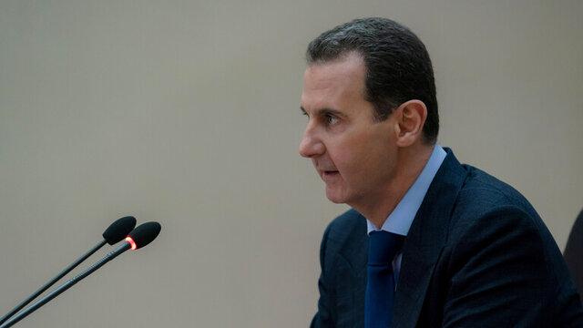 پیام اسد به انصارالله یمن