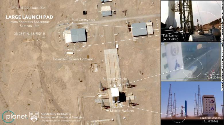 آمریکا: تلاش ناموفق ایران برای پرتاب ماهواره به فضا
