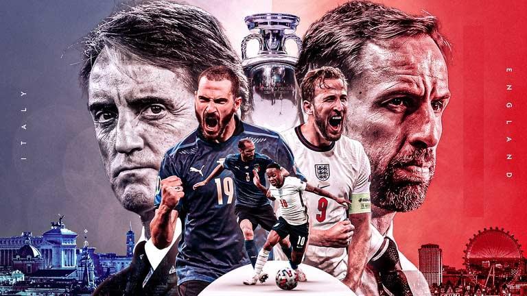 ایتالیا،انگلیس یورو 2021