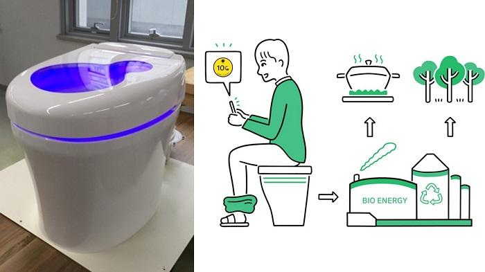 دفع مدفوع و دریافت ارز دیجیتال با توالتی جدید در کره جنوبی