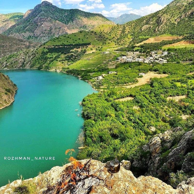 روستای فوق العاده زیبای هیروه (عکس)