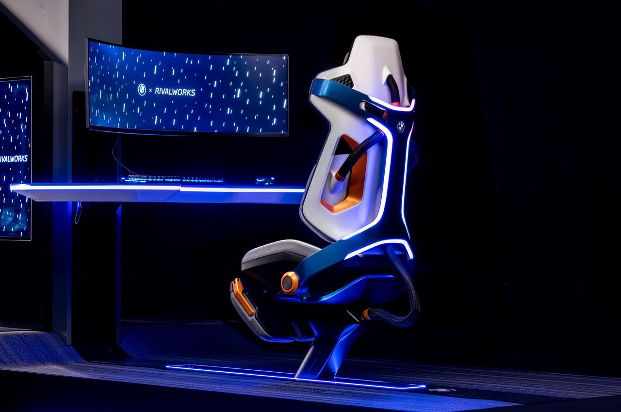 صندلی گیمینگ بامو؛ دروازهای بین دنیای واقعی و دنیای مجازی بازی (+فیلم و عکس)