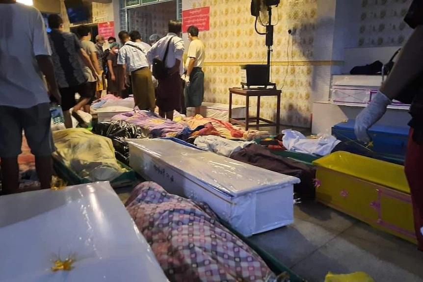 کادر درمان میانمار؛ حکومت نظامی اکسیژن احتکار میکند/ حمله به پزشکان