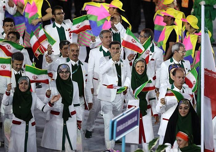 لباس رسمی کاروان المپیک 2016