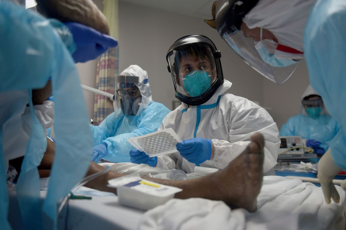 آمریکا: 97 درصد بستری ها و 99.5 درصد مرگ های کرونایی از میان واکسن نزده ها
