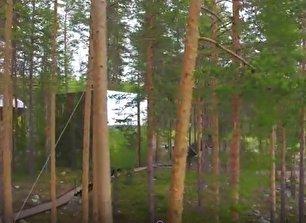 اولین هتل نامرئی جهان در سوئد! (فیلم)