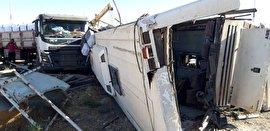 آمادگی بیمه پارسیان برای جبران خسارات تصادف اتوبوس دهشیر- یزد