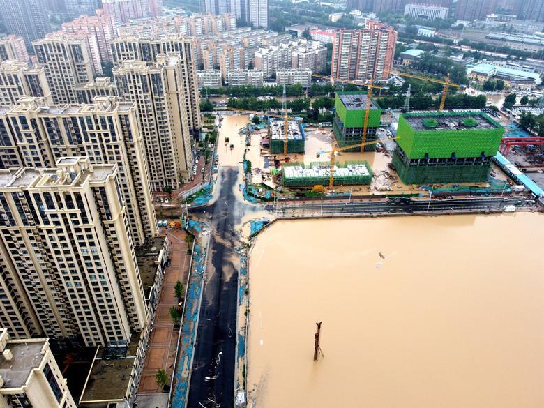 سیل چین؛ کمک رسانی با رسانههای اجتماعی