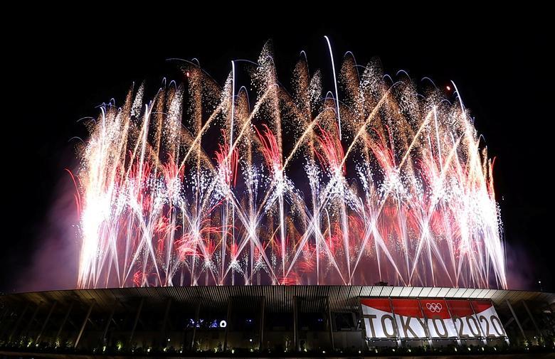 آتش بازی المپیک ژاپن