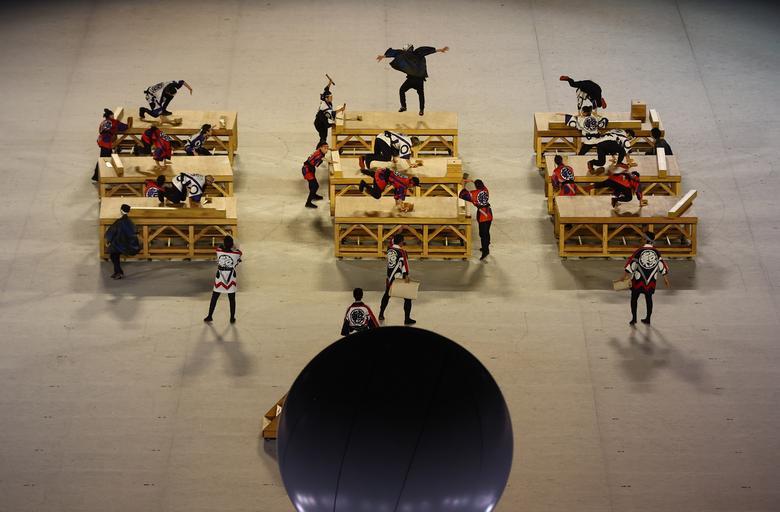 نمایش افتتاحیه المپیک ژاپن