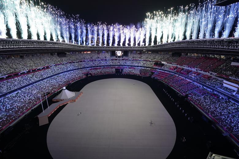 آتش بازی افتتاحیه المپیک ژاپن