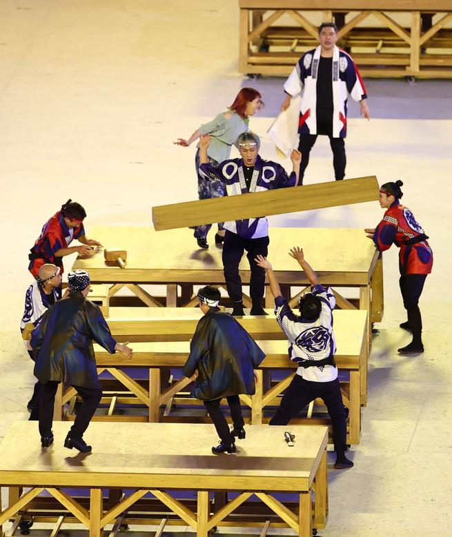 برگزاری افتتاحیه المپیک ژاپن