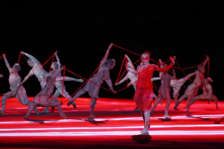 افتتاحیه المپیک ژاپن (عکس)