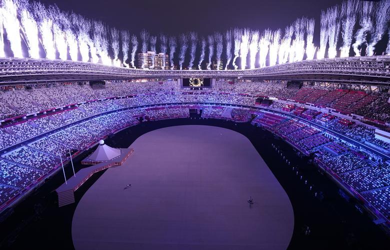استادیوم توکیو افتتاحیه المپیک ژاپن