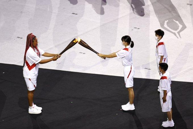 مراحل روشن کردن مشعل المپیک 2021 ژاپن
