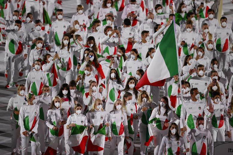 مراسم افتتاحیه المپیک ژاپن (عکس)