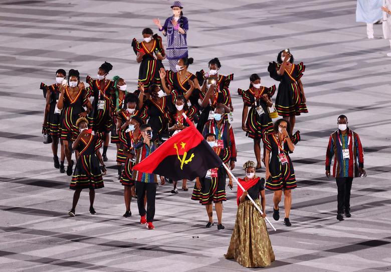 رژه تیم ملی آنگولا در المپیک