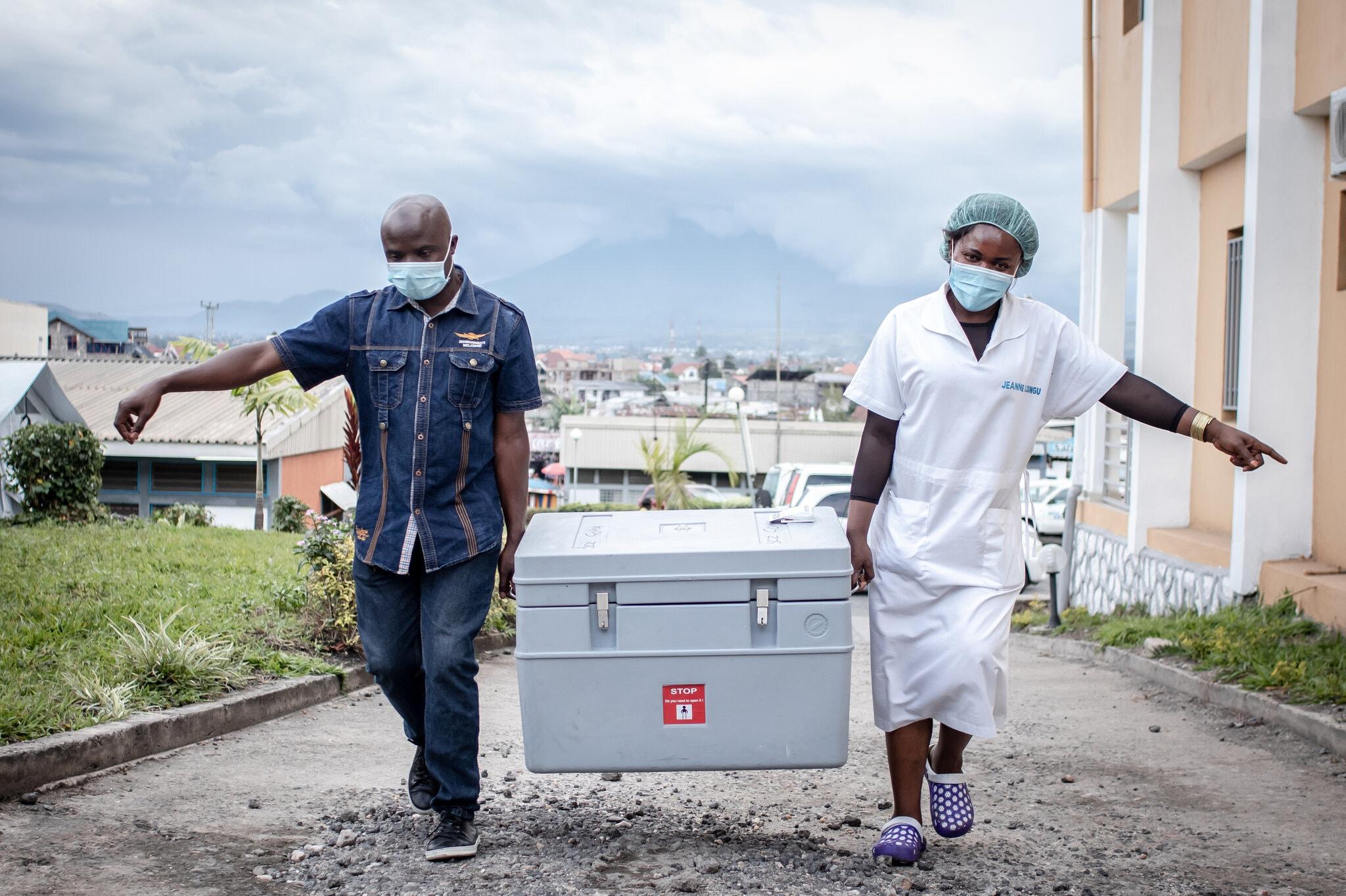 واکسن کواکس در کنگو