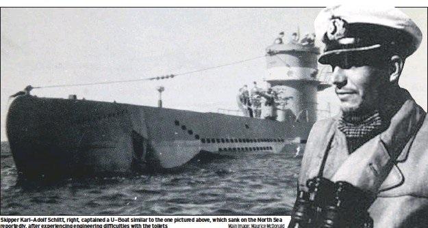 زیردریایی آلمان نازی که به واسطه استفاده نادرست از توالت غرق شد!