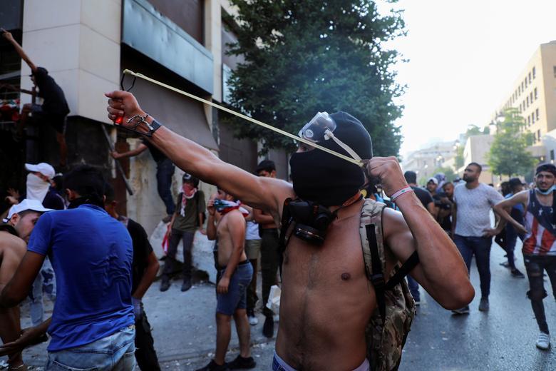 تظاهرات لبنان (عکس)/ معترضان خواستار اجرای عدالت هستند
