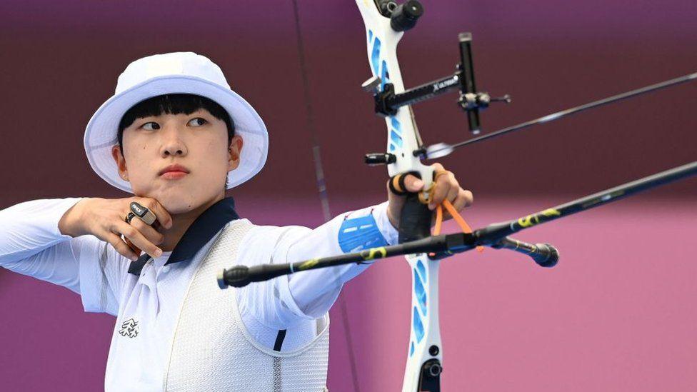 تیرانداز زن و مدال آور المپیک کره جنوبی