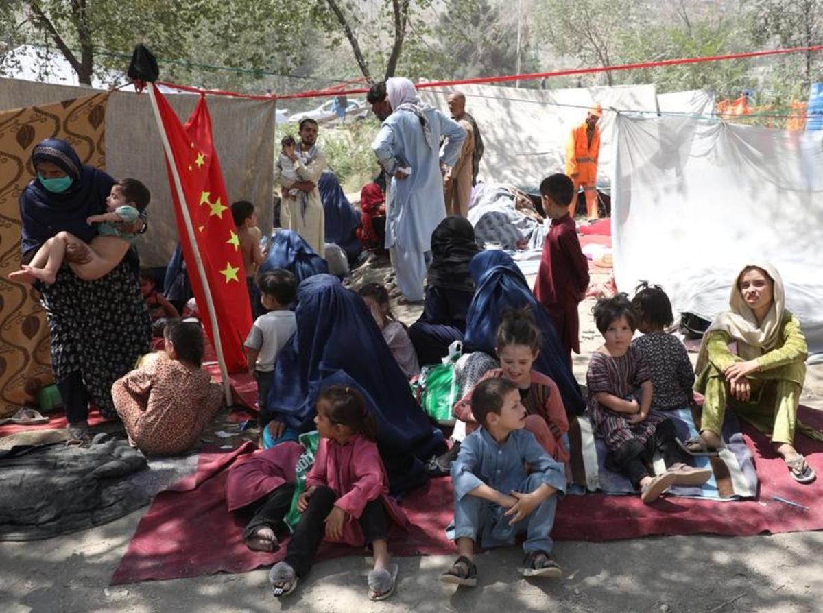 جنگ افغانستان؛ آوارگان افغان در پارکهای کابل (گزارش تصویری)/ محدودیت  طالبان برای زنان