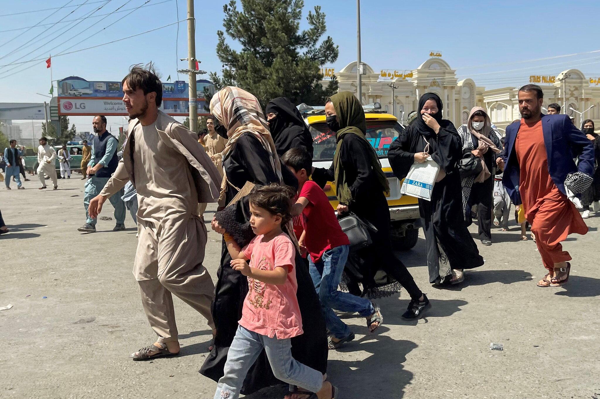 هجوم به سمت فرودگاه کابل