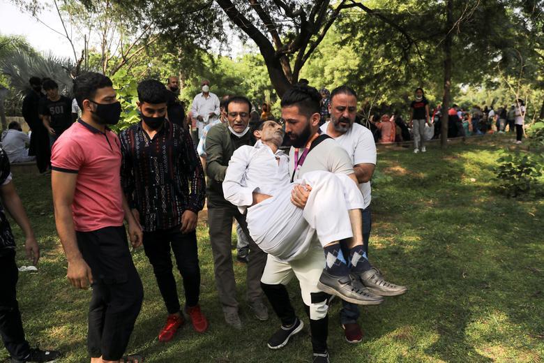 تظاهرات ضد طالبان در هند