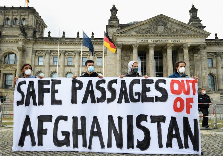 تظاهرات ضد طالبان آلمان