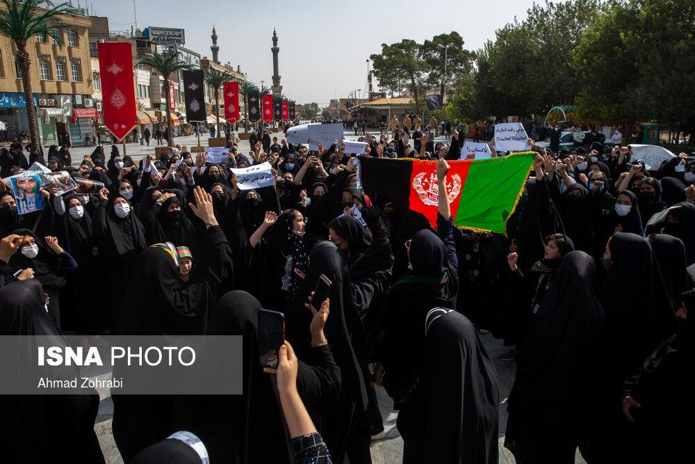 تظاهرات ضد طالبان در جهان (عکس)