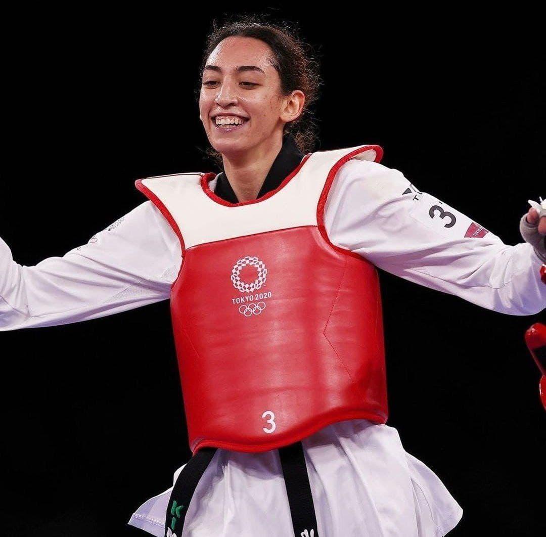 کیمیا علیزاده به نیمه نهایی المپیک توکیو رسید (+عکس)