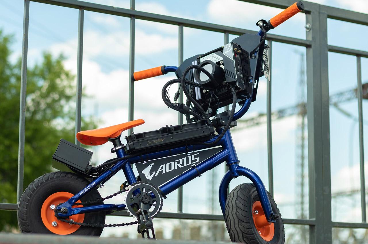 اکسو گیگا بایک؛ ملاقات با نخستین دوچرخه گیمینگ جهان