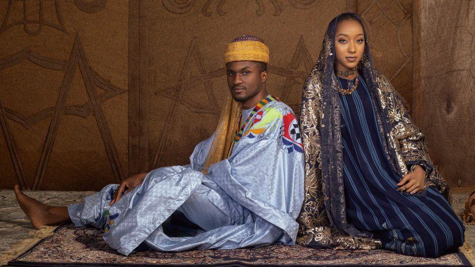عروسی سلطنتی نیجریه؛ جت خصوصی و پر زرق و برق