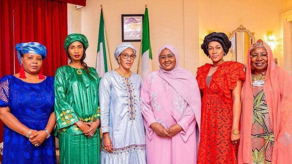 همسران رئیس جمهورهای نیجریه و گامبیا